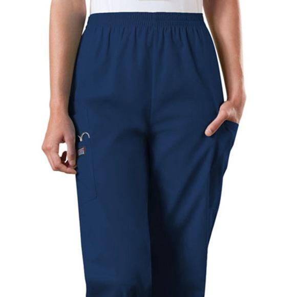 ff3a9a4d337 Cherokee Pants | Nwt Scrub Navy Blue | Poshmark